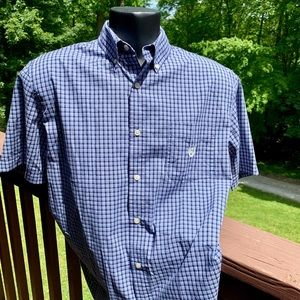VGUC Chaps short sleeve button down. Large.